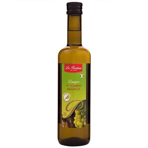 Vinagre de Vinho Branco Importado La Pastina 500Ml