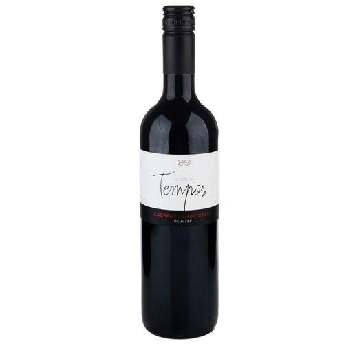 Vinho Nacional Tinto Cabernet Sauvignon Goes Tempos 750Ml