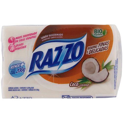 Sabão de Coco em Barra Razzo 200G