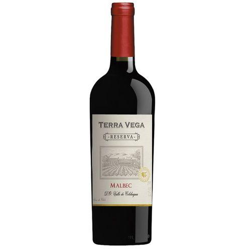 Vinho Chileno Tinto Malbec Terra Vega Reserva 750Ml