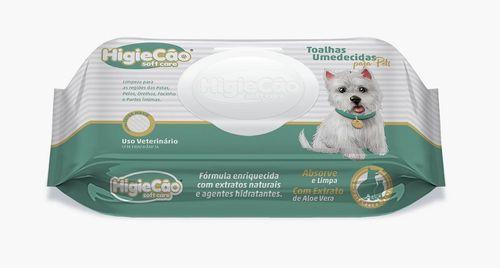Lenço  Umedecido para Cães Higiecão