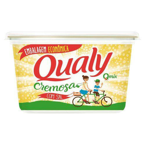 Margarina Cremosa Com Sal Qualy 1Kg