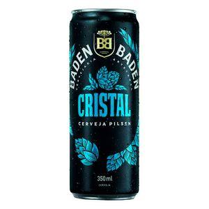 Cerveja Pilsen Cristal Baden 350Ml