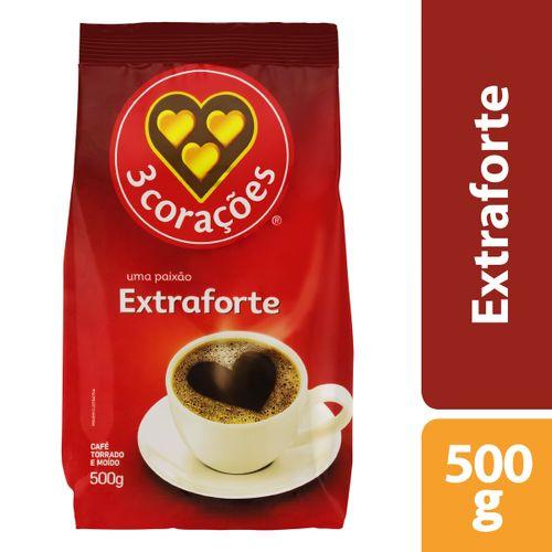 Café Extra Forte Almofada 3 Corações 500G
